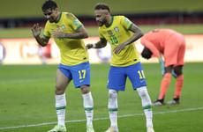 Retaken Neymar penalty helps Brazil maintain perfect WC qualifying start