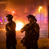 Second night of protests in Minneapolis over fatal shooting of man by US marshals