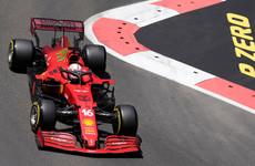Charles Leclerc takes pole for Azerbaijan Grand Prix, with Lewis Hamilton second
