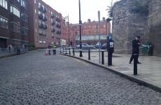 Gardaí search for men seen entering manhole