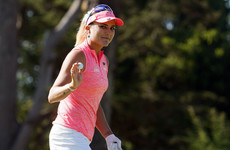 Bogey-free round gives Lexi Thompson the lead at US Women's Open