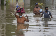 At least 16 dead and a quarter of a million homeless after floods and mudslides in Sri Lanka