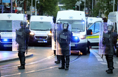Eamon Ryan says public order incidents need to be managed in 'more thought-through manner'