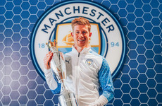 Kevin De Bruyne named PFA Player of Year for second season in a row