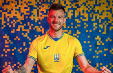 Ukraine's newly unveiled Euros kit sparks fury in Moscow