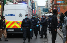 14 people arrested in Dublin yesterday; no garda injuries reported