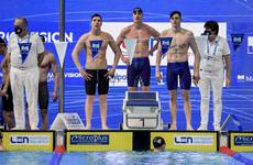 Olympic invite for Irish men's swim team rescinded following FINA error