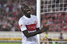 Stuttgart reveal striker has been playing under a false identity