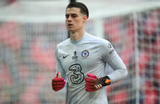 Chelsea goalkeeper among 6 players in Spain's Covid back-ups