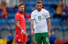 Parrott keeps his place in Ireland team to face Hungary