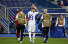 France's win over Bulgaria marred by Karim Benzema injury