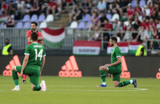 Hungarian prime minister 'agrees' with fans booing Irish footballers taking a knee