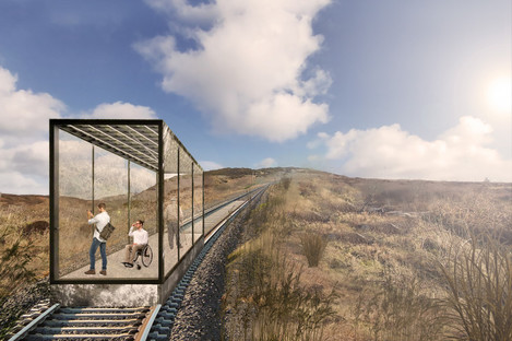 A projection of the proposed funicular at Fort Dunree
