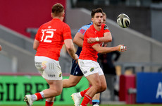 Carbery and co. bid to finish Munster's season with attacking show in Italy