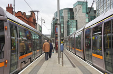 No Luas service running between Smithfield and the Point