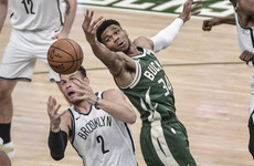 Bucks hang on to beat Nets, Jazz down Clippers in NBA playoffs