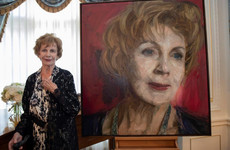 New portrait of Edna O'Brien to be installed at Irish Embassy in London