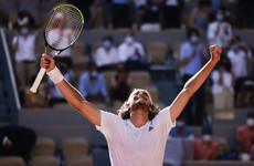Stefanos Tsitsipas battles past Alexander Zverev to reach French Open final