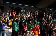 1,000 fans watch on as Shamrock Rovers held by Finn Harps