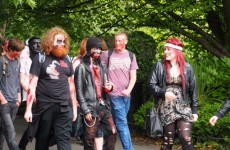 Zombies take over the streets of Dublin (and tidy up afterwards)