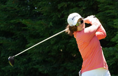 Leona Maguire battles back from difficult start to day two to stay one off the lead in California