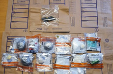 Two men arrested after €120k drugs and ammunition seized in Dublin