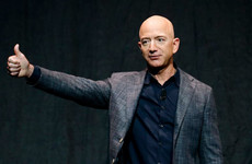 Somebody has bid $28 million for a trip to space with Jeff Bezos