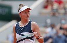 Krejcikova wins French Open, dedicates victory to Novotna