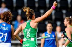 Irish hockey team finish Euros with big win over Italy