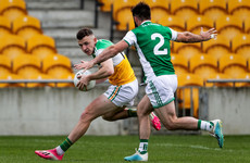 Offaly footballers seal promotion to Division 2 with hard-fought defeat of 14-man Fermanagh