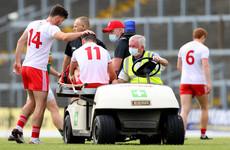 'It definitely is a big worry' - Tyrone star young forward goes off injured in Killarney