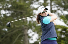 Leona Maguire recovers from tough start to sign off with brilliant eagle putt