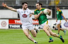 3 red cards as Kildare defeat Meath to seal return to top flight for first time since 2018