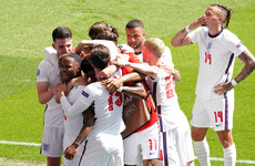 England beat Croatia to get their Euro 2020 off to winning start