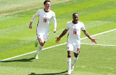 Raheem Sterling justifies his selection in Wembley 'back garden'