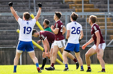 McCarron hits brilliant winner as Monaghan relegate Galway and Armagh retain Divsion 1 status