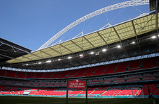 Football fan in 'serious condition' after Wembley fall