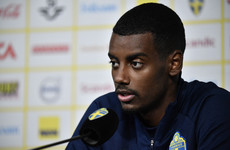 Highly rated 21-year-old Sweden star aiming to make up for injured Ibrahimovic