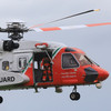 Three teenage boys winched off rocks after becoming stranded by rising tide