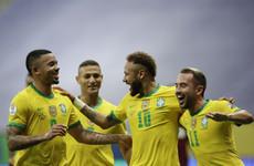 Neymar, Marquinhos and Gabigol send Brazil to victory in Copa America opener