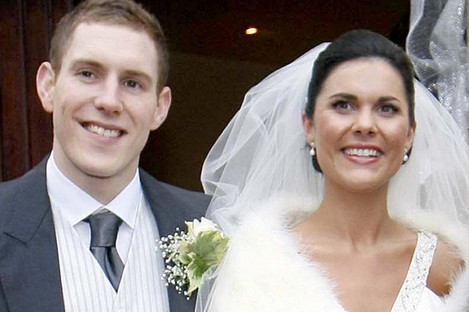 John McAreavey and wife Michaela McAreavey on their wedding day in December 2010.