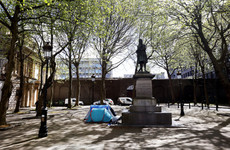 Nearly 60% of Dublin's rough sleepers were using tents in April
