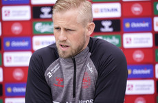 Kasper Schmeichel: It was damn nice to see Christian Eriksen smile and laugh