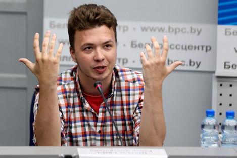 Belarusian dissident journalist Raman Pratasevich