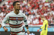 Cristiano Ronaldo makes history in front of over 60,000 fans