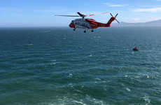 Two men airlifted to hospital after getting into difficulty near Howth cliff