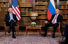 No joint press conference and no breaking of bread: Biden and Putin meet at Geneva summit