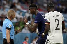 Antonio Rudiger denies biting Paul Pogba