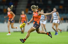 Ladies football legends Staunton and Stack re-sign for Greater Western Sydney Giants