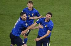 Locatelli and Immobile fire Italy into Euro 2020 last 16